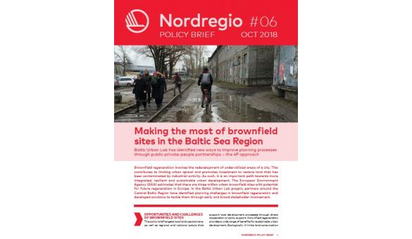Policy Brief: Making the most of brownfield sites in the Baltic Sea Region